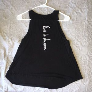 mccnchild Tops - Black muscle tee tank top